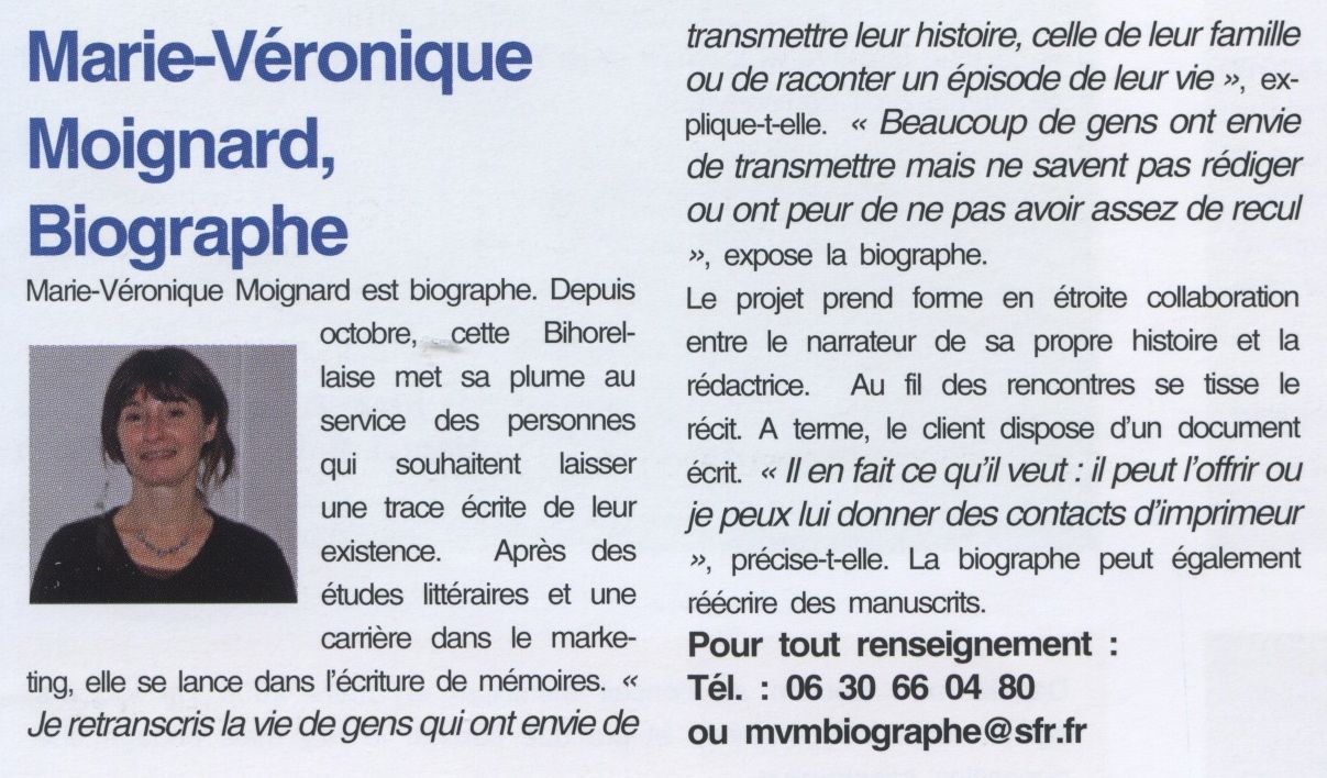 Bihorel Mag mars 2011 biographe